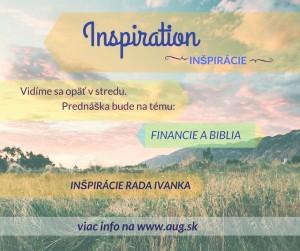 financie a biblia