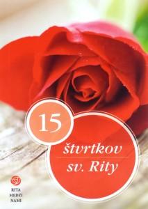 Kniha - 15 stvrtkov sv Rity