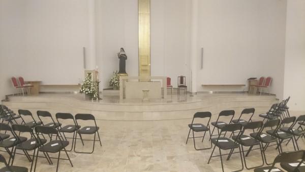 Kostol sv. Rity zatvorený  (19.-24. august)