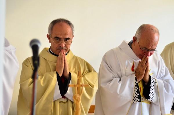 P. Pavol Benedik oslavuje