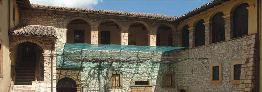 kláštor kde žila sv. Rita