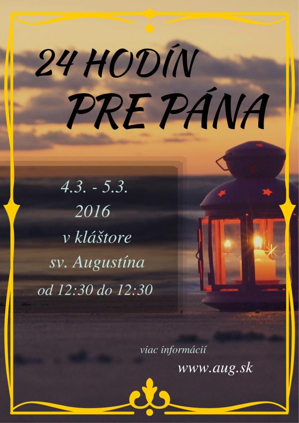 24 hodín pre Pána
