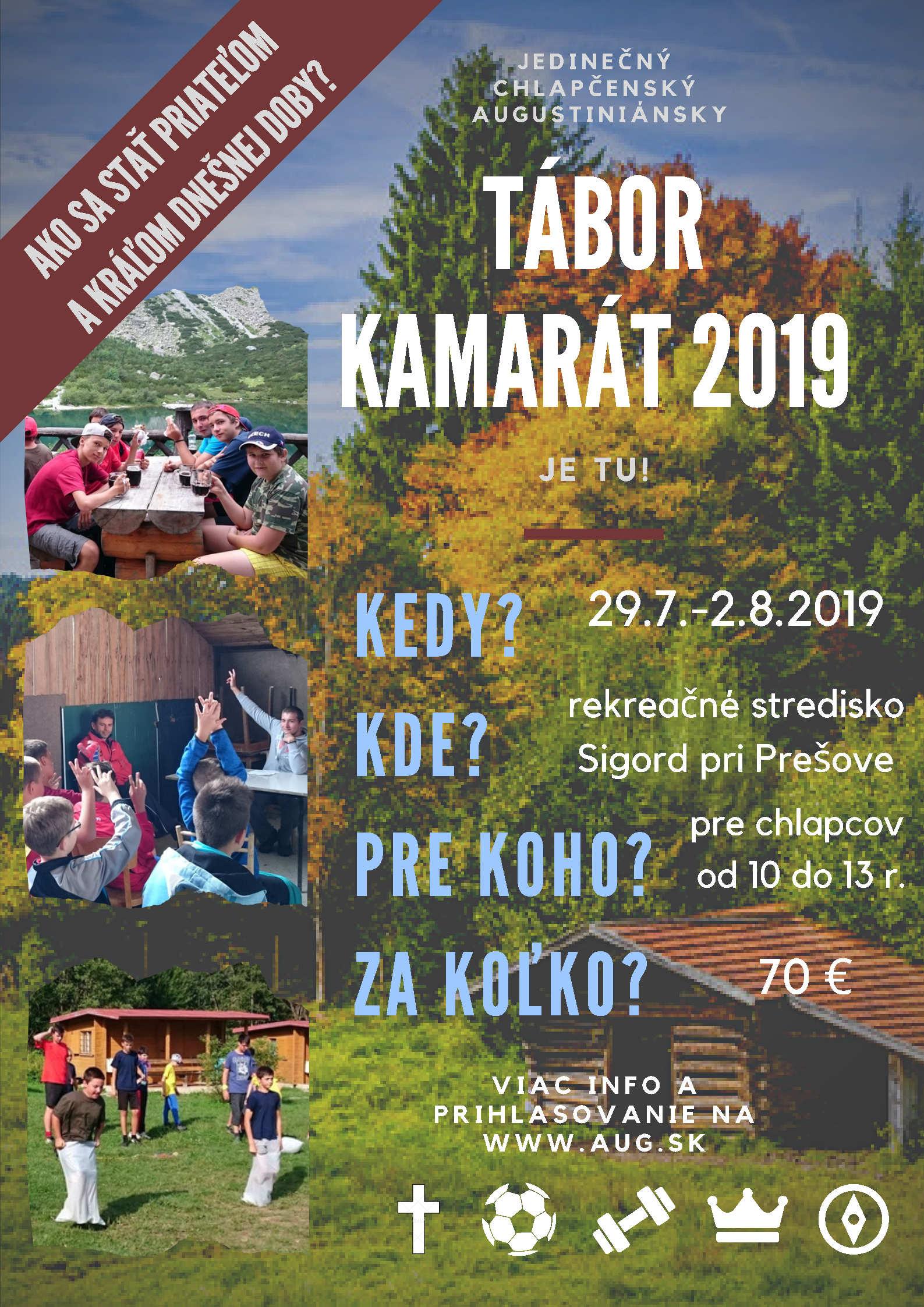 Tábor Kamarát 2019